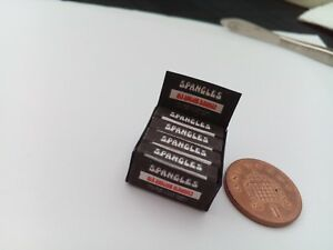 1/12 Scale - Box of Spangles (Old English) Sweets for Dollshouse Miniatures