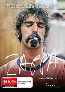 BRAND NEW Zappa (DVD, 2020) R4 Music Documentary Frank