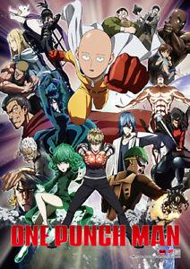 *Legit Poster* One Punch Man Saitama Genos Mumen Rider Key Art Wallscroll #86676
