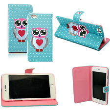 """Leather Case Wallet Cover Stand Soft Pouch For Apple iPhone 6 Plus/6S Plus 5.5"""""""