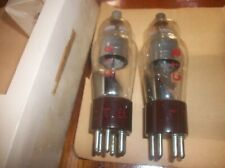 Pair Matched 310A WE = 4310A STC vacuum tubes License Western Electric