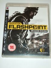 "Operation Flashpoint Dragon Rising Playstation 3 PS3 ""FREE UK P&P"""