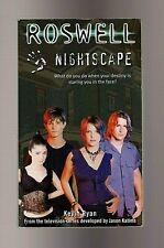 Roswell Nightscape by Kevin Ryan Pb Tv Tie-In Ya Science Fiction Ufos Aliens