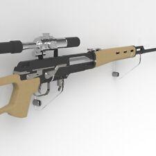Rifle Holder / Musket Brackets / Rifle Wall Mount Display / Gun Weapon / Pistol