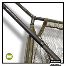"""Saber Carbon 42"""" Landing Net & Staff - Carp Fishing - Fish Care"""