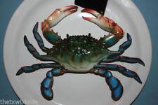 (6) Seafood Restaurant Crab Decor, Realistic 3-D Crab Replicas, Crabshack,9 inch