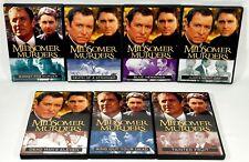Midsomer Murders 7 Dvd Lot Tainted Fruit/Judgement Day/Blue Herrings/Dead Man.