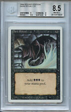 MTG Revised Dark Ritual  BGS 8.5 NM-MT+ Magic Card Amricons 5634