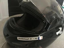 STICKER CASQUE IDENTITE REFLECHISSANT GROUPE SANGUIN VISIBLE NUIT - SCRIPT