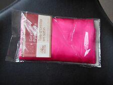 New Home Collection Pink Satin Pillow Case Pillowcase 20 x 30