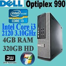 Dell Intel Core i3 2nd Gen. 4GB Desktop & All-In-One PCs