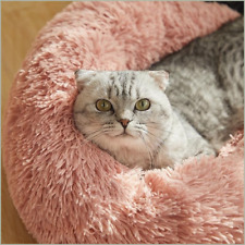 marshmallow cat bed cave comfy calming dog/cat bed self warming heated cat bed
