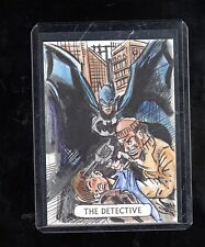 2016 Cryptozoic DC Justice league  sketch card by Vinicius Mouro
