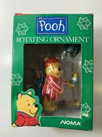 Noma Winnie the Pooh Rotating Christmas Ornament Vintage 1989 Piglet Disney