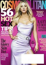 Kaley Cuoco Cosmopolitan Magazine The Glow Skin Diet Dating And Social Media