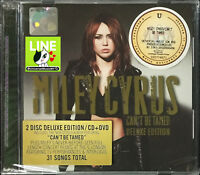 MILEY CYRUS Can't Be Tamed 2010 MALAYSIA DELUXE EDITION CD + DVD FREE SHIPMENT
