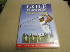 "DVD ""LE GOLF AU FEMININ"" documentaire"