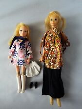 Vintage Barbie PG & Stacey Mod Clothes Purse & Shoes Doll Retro Classic Girl Toy