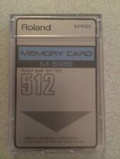 ROLAND  CARD RAM M512 CON 64 SUONI IL MEGLIO DEI SUONI DELLE 4 CARD ROLAND D50