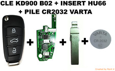 CLE KD900 B02 + INSERT HU66 + PILE VARTA CR2032