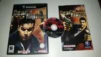 * Nintendo Gamecube Game * DEAD TO RIGHTS * Cube Wii