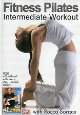 Fitness Pilates Intermediate Workout Rocco Sorace DVD Relive Stress Flexibility