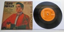 "Elvis Presley - Strictly Elvis - Sings Old Shep UK 1969 RCA Orange Label 7"" EP"
