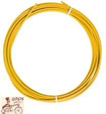 SUNLITE SIS 4mm YELLOW SHIFTER DERAILLEUR CABLE HOUSING--25 FOOT ROLL