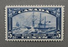 *Kengo* 1933 Canada stamp collection #204 Royal William MNG CV$15 @35