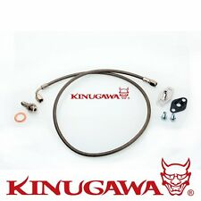 Kinugawa Turbo Oil Feed Line TOYOTA MR2 3SGTE Rev 1, 2 w/ Garrett T3 T4 Turbo