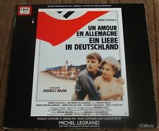 UN AMOUR EN ALLEMAGNE (Michel Legrand) original France stereo lp (1983)