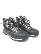 Timberland Black Leather Lace Up Hiking Boots women's Size 8.5 M Great Condition