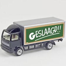 geslaagd cadeau leuke model vrachtwagen met de tekst geslaagd