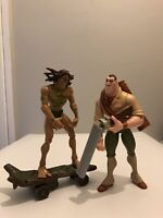 Disney Tarzan Collectible Figurines  — Vintage Set — Tarzan  Clayton 1990s