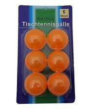 U017 6x Tischtennisbälle Tischtennis Ball V1
