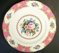 """Royal Albert Lady Carlyle 10.5"""" Dinner Plate England. Exquisite!"""
