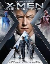 X-Men: Beginnings Trilogy (Blu-rayDisc,2016, 3-Disc Set