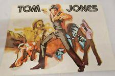 Tom Jones 1970's souvenir programme.