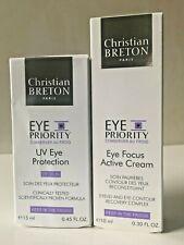 Christian Breton Eye Priority Eye Focus Active Cream 10ml +UV Eye Protection SET