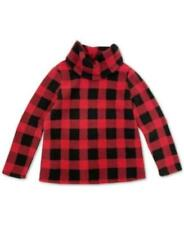 MSRP $50 Style & Co Checked Cowlneck Sweatshirt Red Size XL