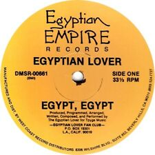 Egyptian Lover - Egypt Egypt 12 Inch Vinyl Egyptian Empire Records New Sealed