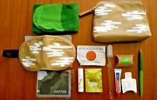 JetBlue Hopper Mint Amenity Bag Tan Canvas NEW * FREE SHIP*