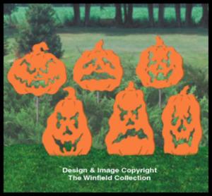 FEARSOME PUMPKIN SHADOWS #SH141 WINFIELD Wood Craft Pattern DIY Woodworking Plan