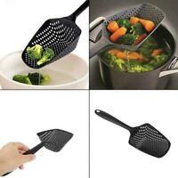 1*Kitchen Accessories Gadgets Strainer Scoop Colander Drain Veggies Water Scoop