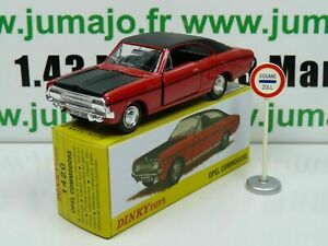 DT26 Voiture réédition DINKY TOYS atlas : 1420 Opel Commodore