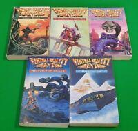 Virtual Reality ***BOOKS 1-5!!*** Dave Morris Mark Smith Fighting Fantasy#1