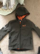 Jack Wolfskin Boys Softshell Jacket Size 7