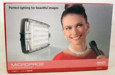 MANFROTTO MICROPRO2 LED LIGHT-BNIB-GREAT FOR PHOTOS/VIDEOS-FREE POSTAGE EUROPE