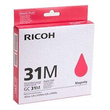 Genuine Ricoh 405690 Magenta Toner Cartridge GC31M 1560 Page GXE2600, GXE 3300N