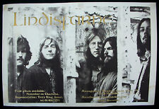 LINDISFARNE Nicely Out Of Tune 1970 UK Charisma B&C Promo POSTER British Folk